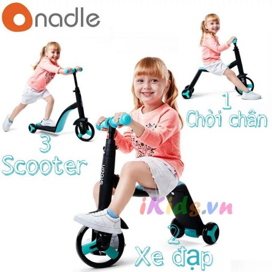 Xe Scooter Nadle 3 in 1